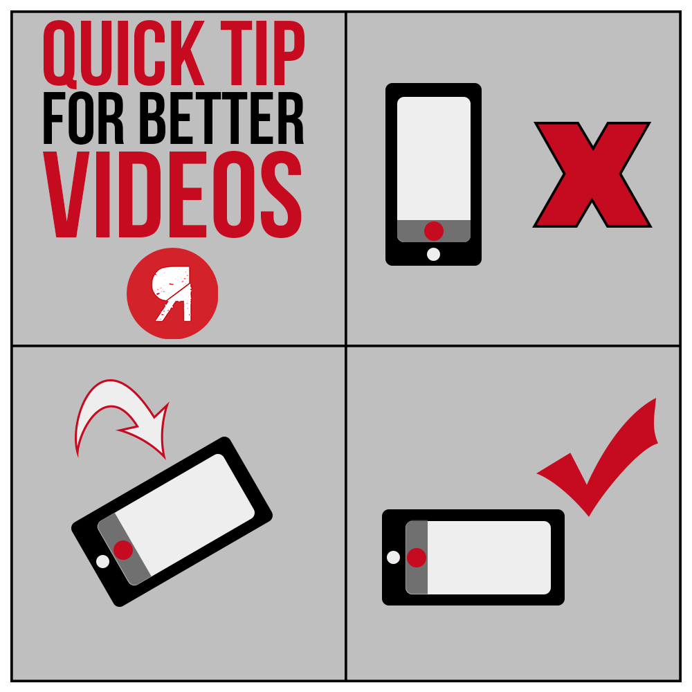 Quick tip on better videos