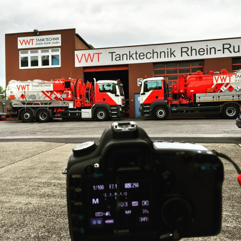 Shooting some pictures for VWT Tanktechnik …