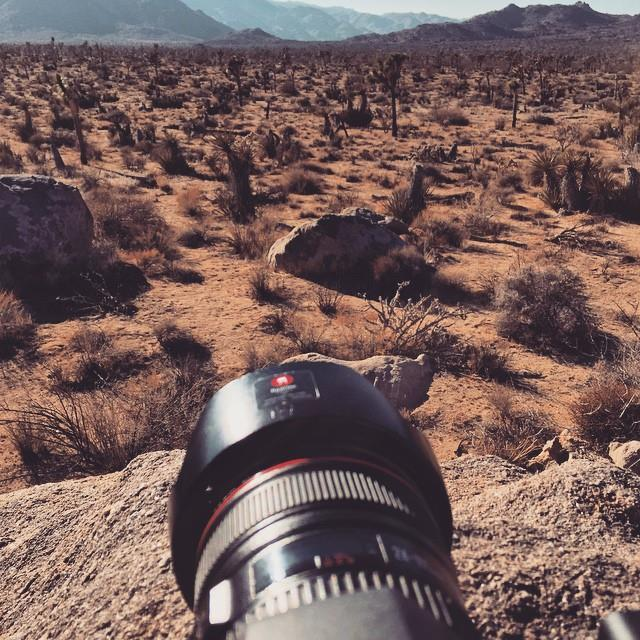 Getting a bit of footage in the desert the other …