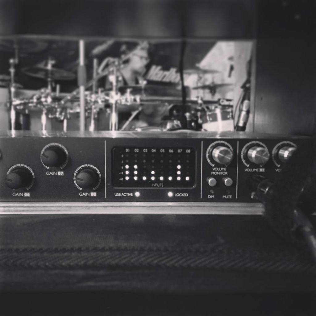 Just wrapped two days of EP recording for Hear …