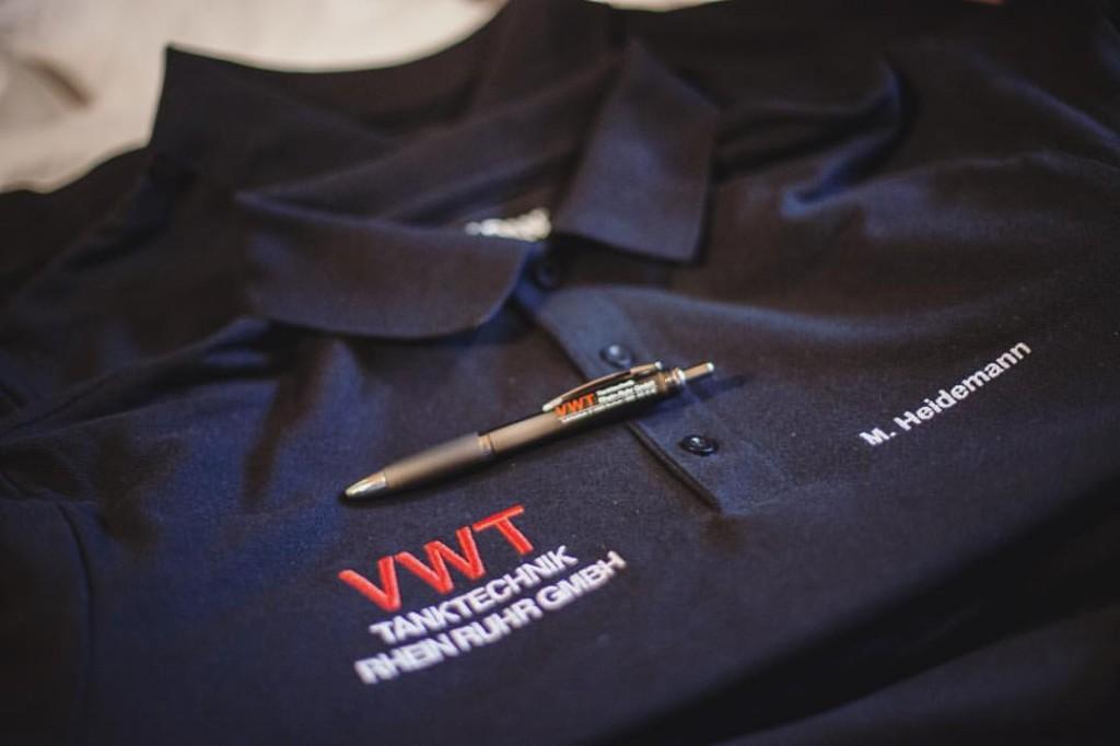 We created some merchandise for VWT Tanktechnik …