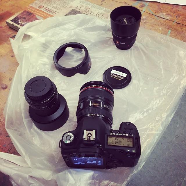 Little bit of late night shooting #canon #5DmkII …