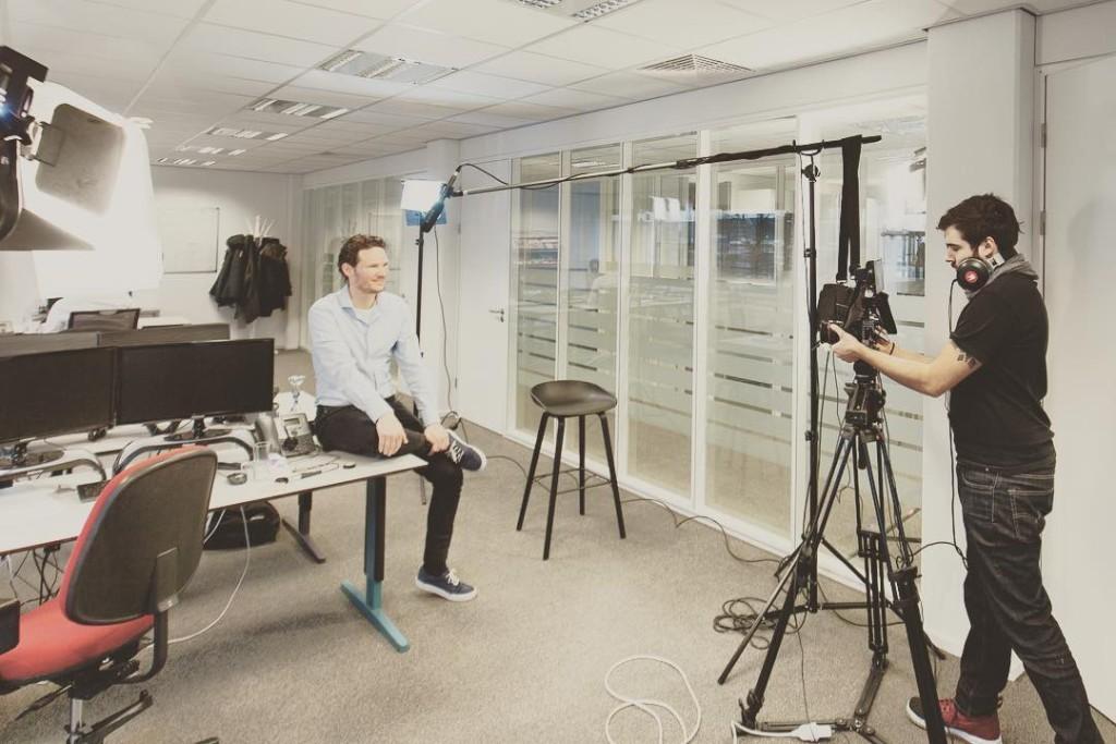 Fun day shooting a few videos fot the Dutch …