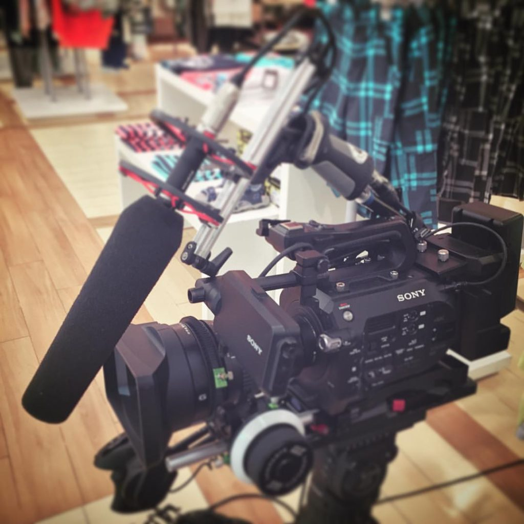 Production sound for an NDA job via FilmART a …