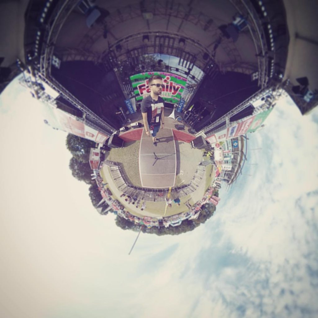 Every stage is a tiny little planet