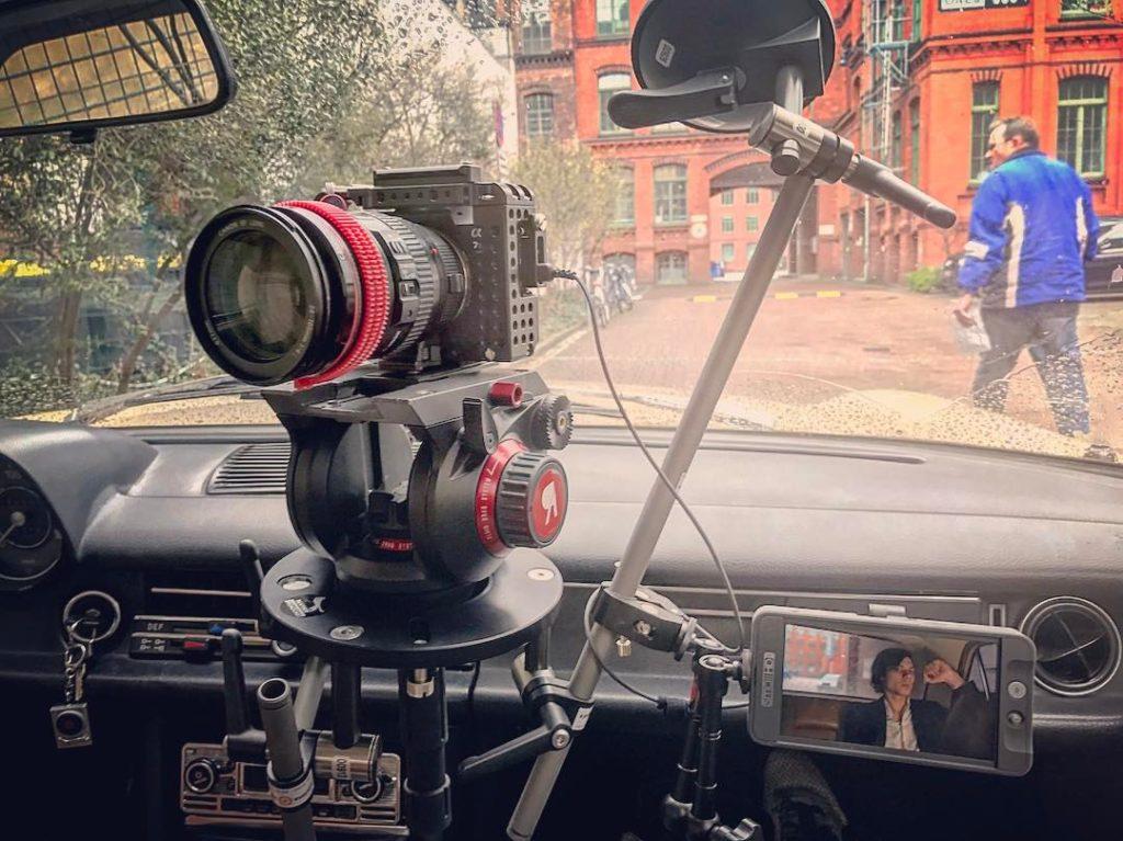 Filming a music video for Barrenstein in Berlin