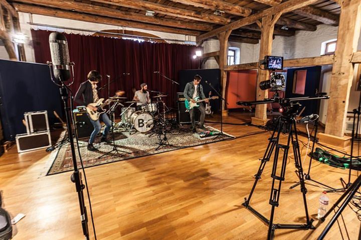 Two days of recording a set of live music-videos …