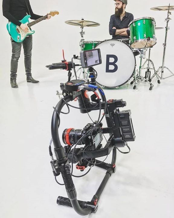 The ronin setup for last weeks music video shoot …