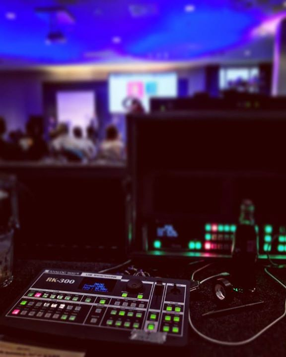 Doing live video for an event on behalf of LAM in …