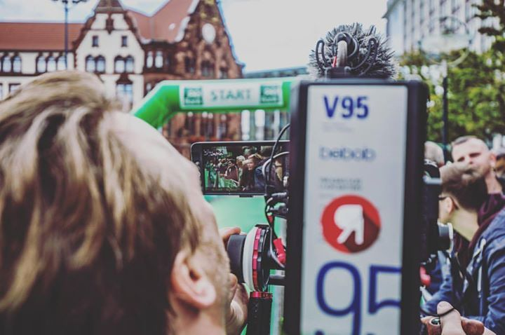 Filming and photographing for Dortmund Giants at …