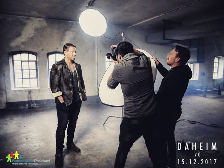 Snap from the album-cover shoot for Patric …