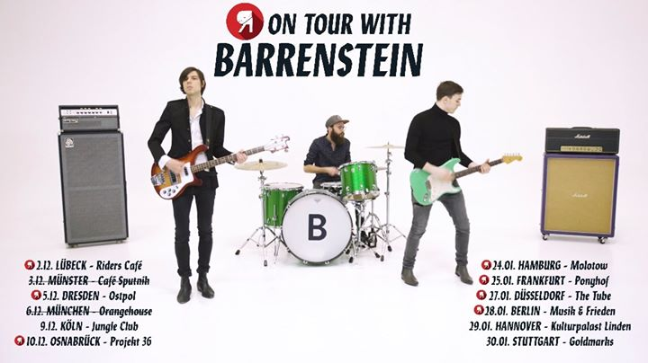 Wir sind für einige Termine mit @barrenstein auf …