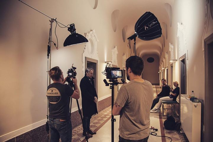 Behind the scenes of DAHEIM, the new music video …