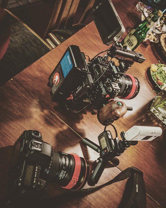 Filming @barrenstein live in Frankfurt today. …