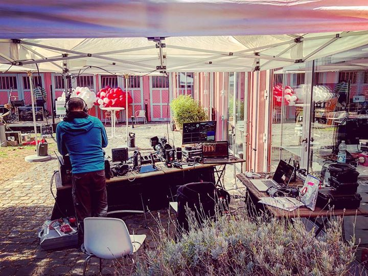 Our little mobile production office for …