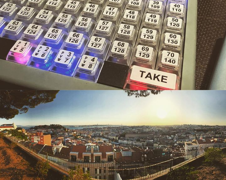 Wrapped one week of work in Lisbon, Portugal with …