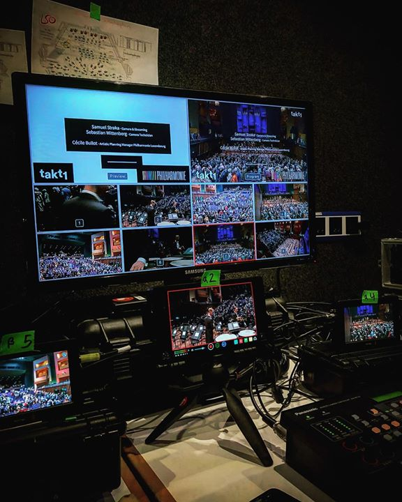 Live streaming from Philharmonie Luxembourg for …