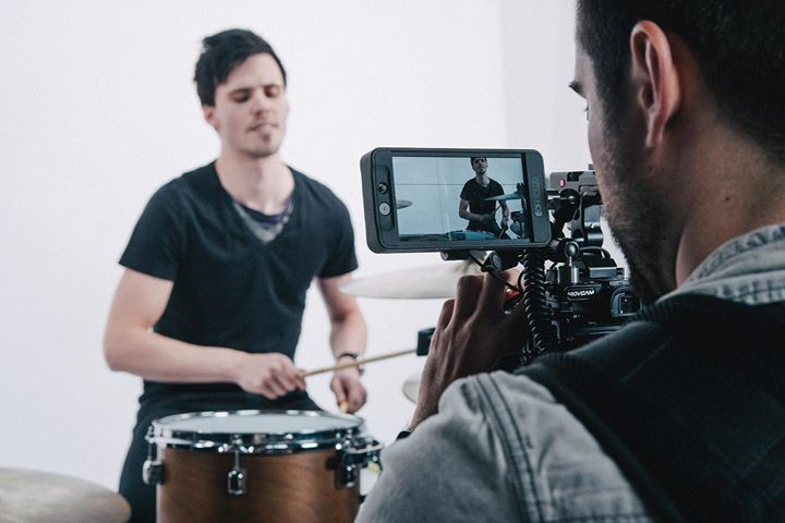 Filming the latest @kompass_band video a couple of …